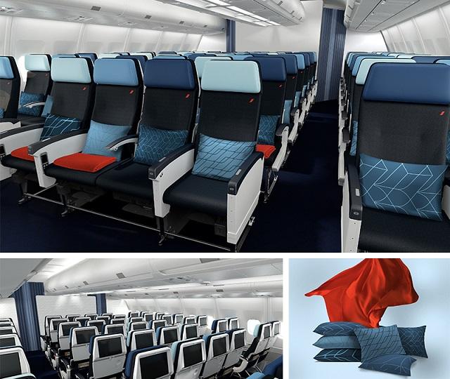 Air France: De nouvelles cabines à bord des Airbus 330