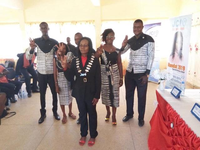 JCI Fada «Eclat»: Mounika Zongo, nouvelle présidente