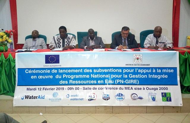 Gestion   des ressources en eau: L'Union européenne appuie le PN-GIRE  à hauteur de 3 milliards de FCFA