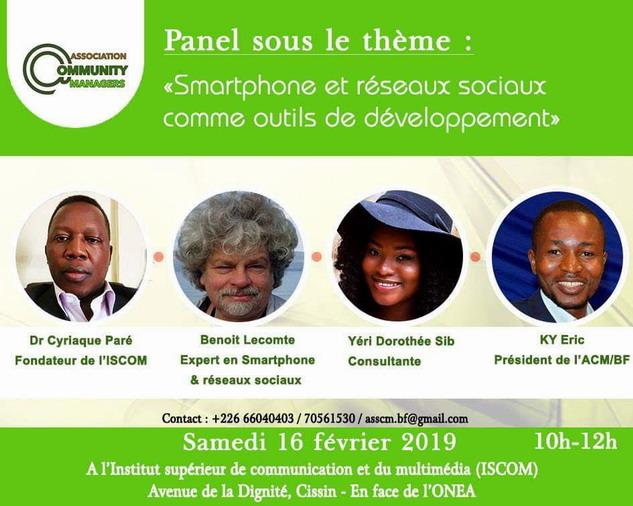 La communication digitale en débat: Les Community managers du Burkina s'organisent et parlent du Smartphone comme outil de développement