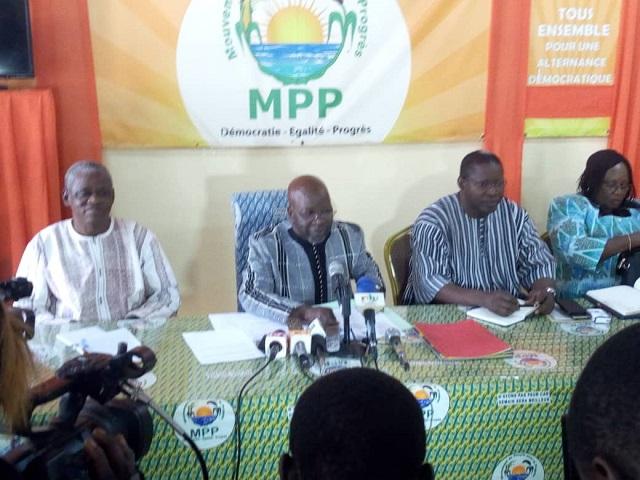 Vie politique nationale: Le MPP célèbre ses cinq ans d'existence