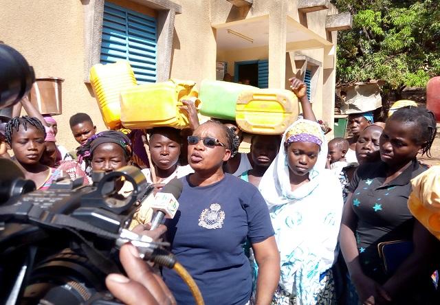 Gaoua: Des femmes dans la rue pour réclamer de l'eau