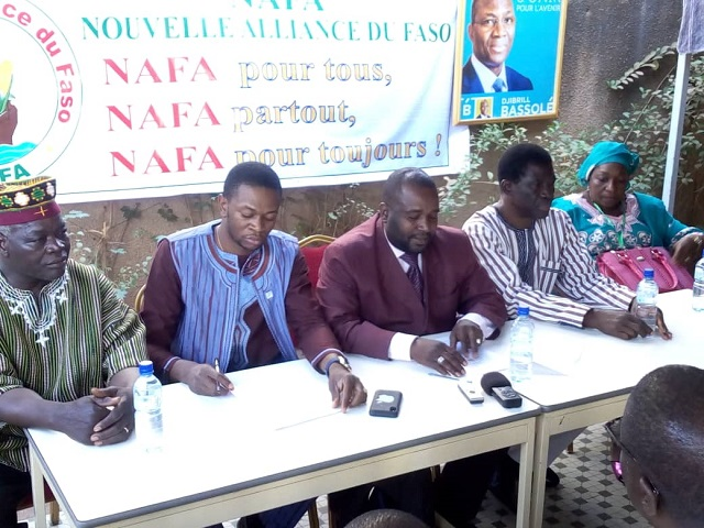 Politique nationale: La NAFA attire l'attention du pouvoir sur l'état de santé de Djibrill Bassolé