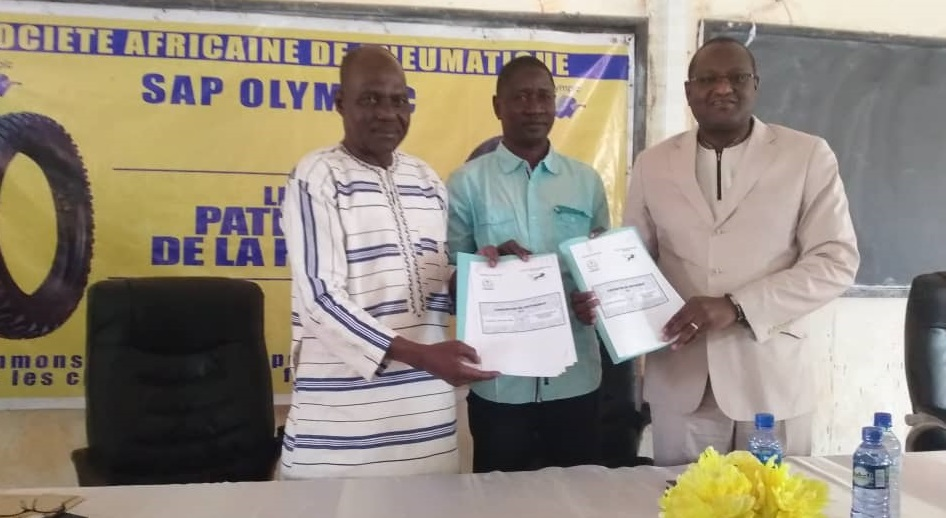 Bobo-Dioulasso: La SAP Olympic signe une convention avec l'Université Nazi Boni pour écouler ses produits
