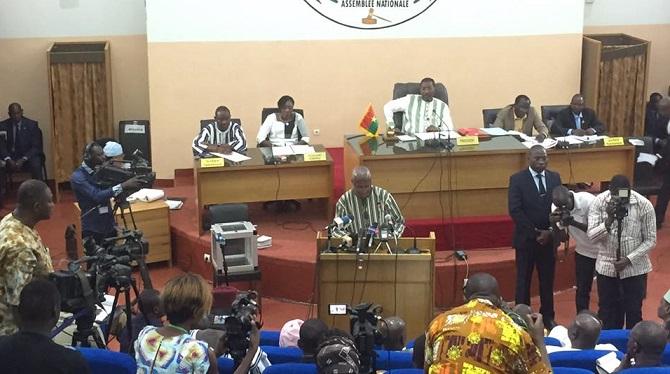 Burkina Faso: Déclaration de politique générale du Premier ministre Christophe Dabiré