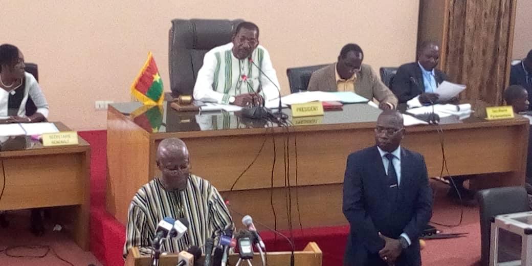 Déclaration de politique générale: Les cinq engagements du Premier ministre Christophe Dabiré à l'Assemblée nationale