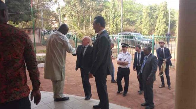 Bobo-Dioulasso: L'ambassadeur de France au Burkina prend le pouls de la ville