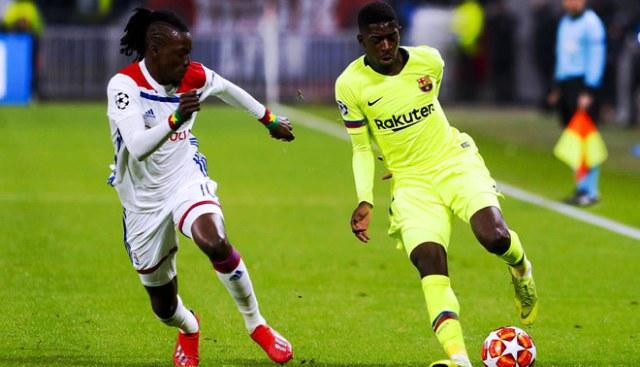 Ligue des champions européenne: Bertrand Traoré et ses coéquipiers tiennent tête au Barça (0-0)