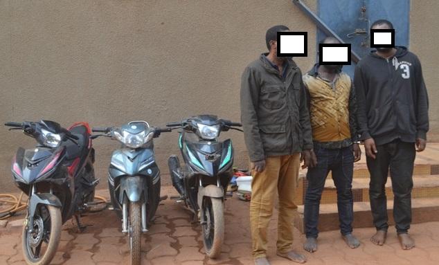 Insécurité urbaine: Un réseau de voleurs à la «roulotte» mis hors d'état de nuire
