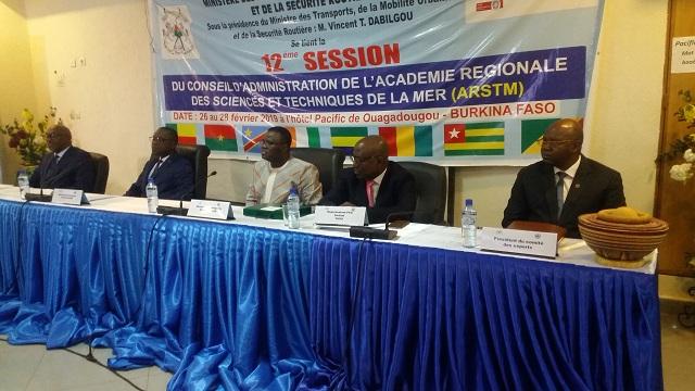 Académie régionale des sciences et techniques de mer (ARSTM): Vincent Dabilougou prend la présidence du conseil d'administration