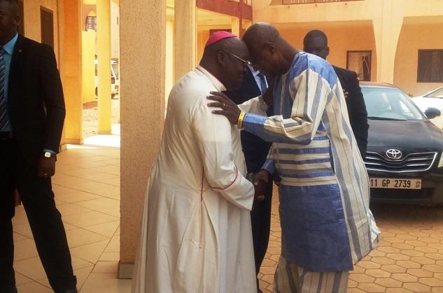 Premier ministère: Christophe Dabiré sollicite la bénédiction des évêques