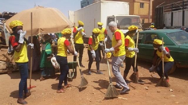 Société Nestlé: Une journée zéro plastique à Ouagadougou