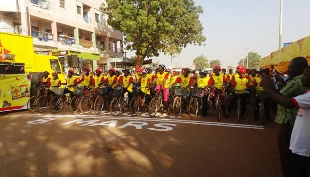 8 Mars: Nestlé célèbre la femme à travers une course cycliste
