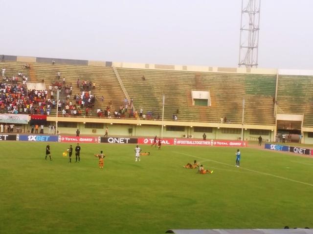 Coupe CAF: Presque fini pour Salitas