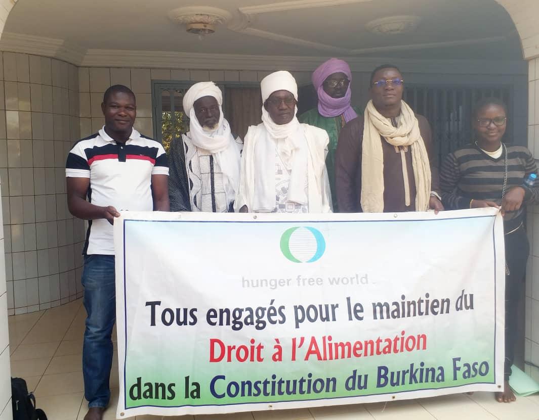 Droit à l'alimentation: L'Emir de Dori prône  le  retour à la vie en communauté