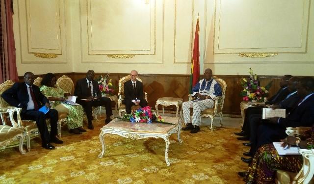 Economie: Le représentant  Afrique du FMI échange avec le premier ministre