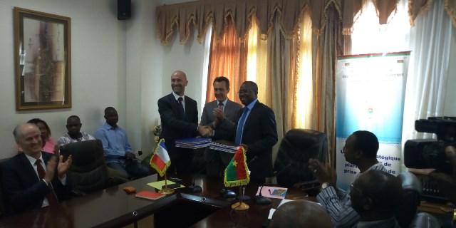 Projets structurants au Burkina: L'UE et l'AFD s'engagent pour 38 milliards de F CFA