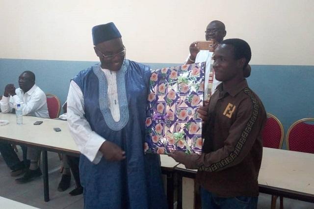 Université Ouaga I Pr-Joseph-Ki-Zerbo: Admis à la retraite, le Pr Prosper N. Zombré reçoit l'hommage de ses pairs