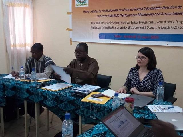 Malnutrition: La prévalence reste élevée au Burkina