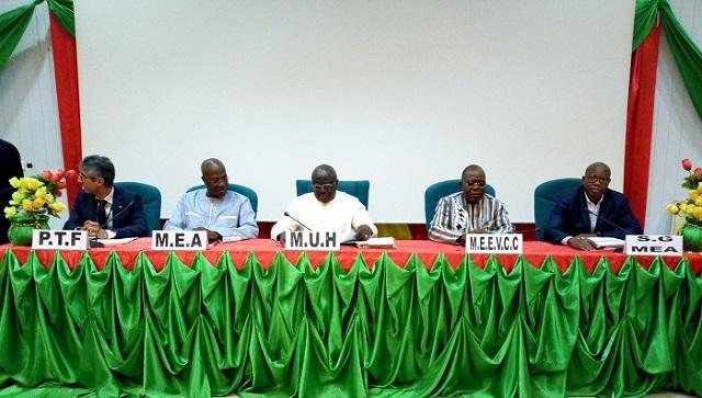 Environnement, eau et assainissement: Le Cadre sectoriel de dialogue passe à la loupe les activités de 2018