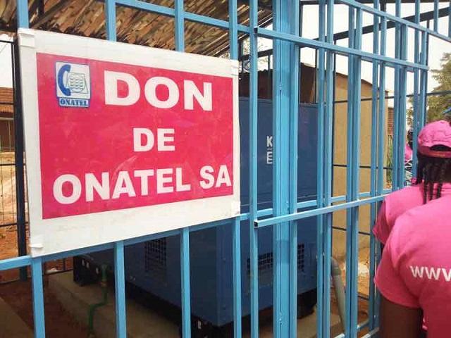 Santé: L'ONATEL offre un groupe électrogène au service psychiatrique de l'hôpital Souro-Sanou