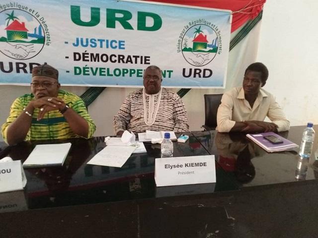 Bobo-Dioulasso: Les responsables de l'URD échangent avec leurs militants