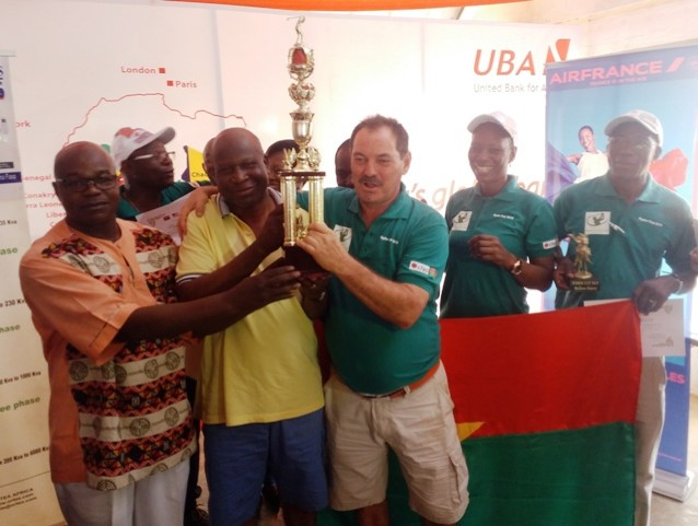 Golf : le Burkina remporte la Rudy Cup 2019