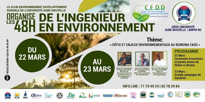 Les 48H de l'ingénieur en Environnement et Développement Durable de l'université Aube Nouvelle