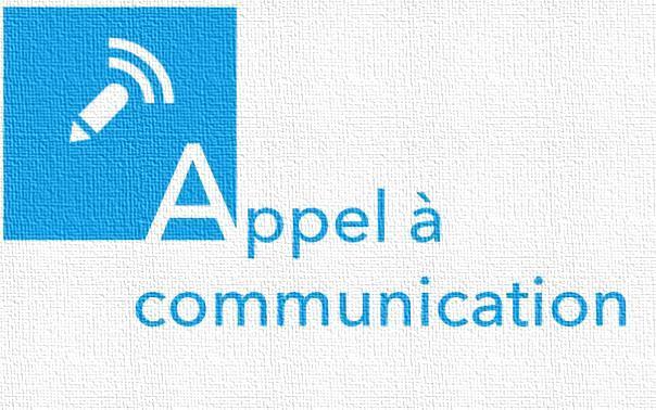 Appel à communication dans les domaines de droit au plus tard le 15 juillet 2019