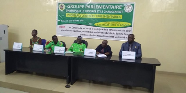 Gaoua: L'UPC tient  ses premières journées parlementaires de l'année