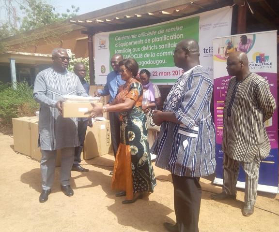 Commune de Ouagadougou: Du matériel pour accroître l'offre de services en planification familiale