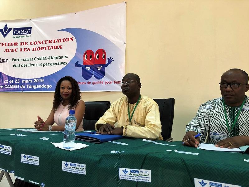Santé: La CAMEG et les formations hospitalières en quête de thérapie