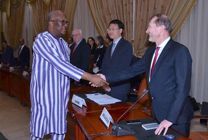 Lutte anti-terroriste: Le Conseil de sécurité de l'ONU au chevet du Burkina
