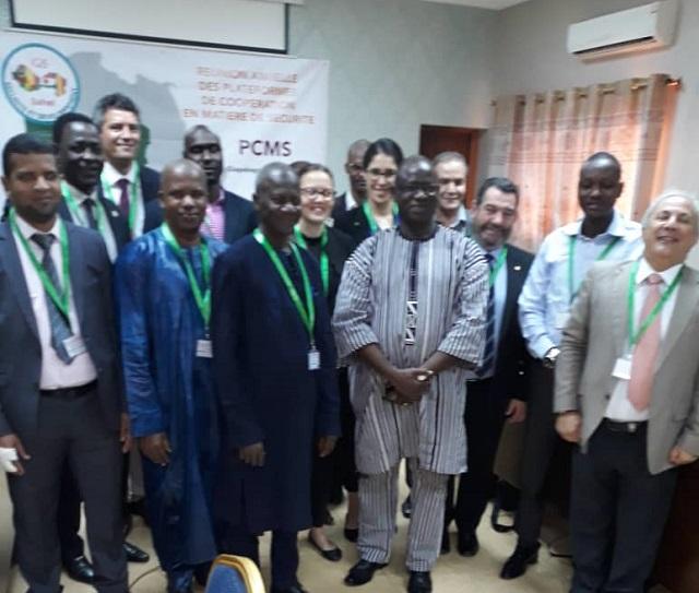 Espace G5 Sahel: La Plateforme de coopération en matière de sécurité peaufine ses actions à Ouagadougou