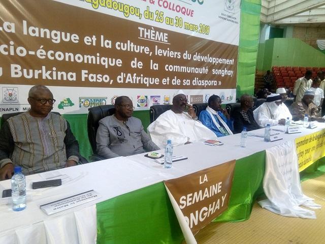 Semaine songhay du Burkina: La langue et la culture songhay célébrées à Ouagadougou