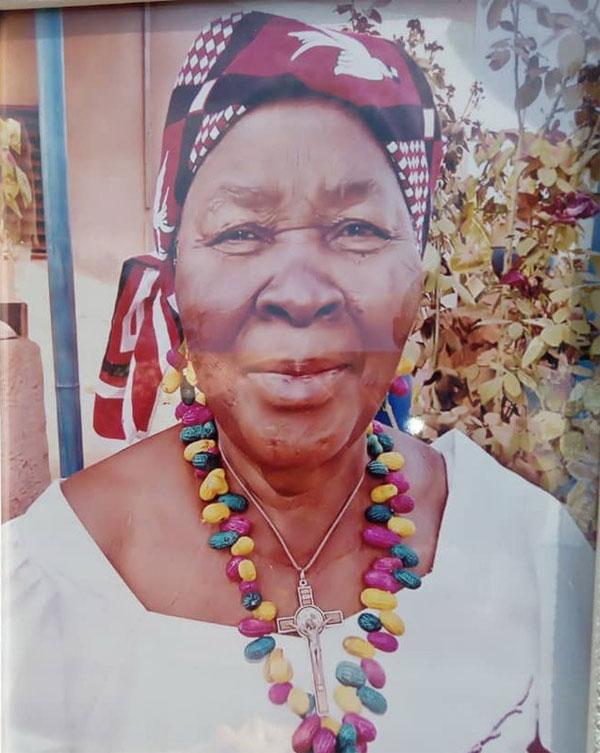 Décès de Madame Bambara née Zouré Marie Renée: Faire-part