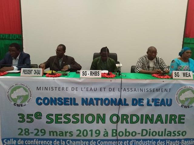 Conseil national de l'eau: Les membres  en session à Bobo-Dioulasso