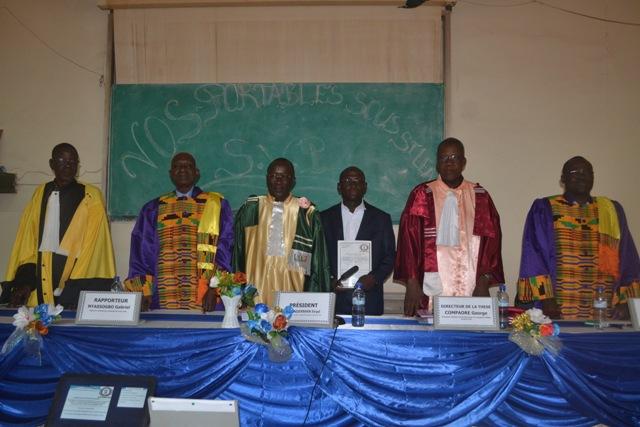 Université de Ouagadougou: Vincent Zoma décroche son doctorat en géographie