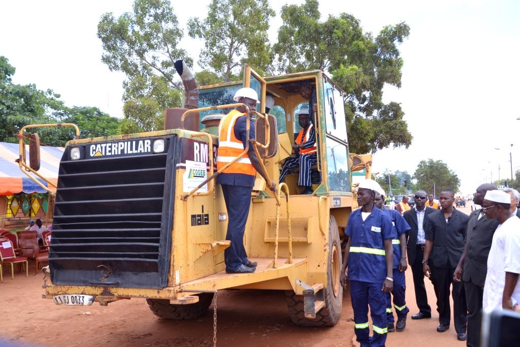 Déclaration d'intention  de réaliser les travaux de réhabilitation de la  rocade Sud-Est du boulevard des Tansoba