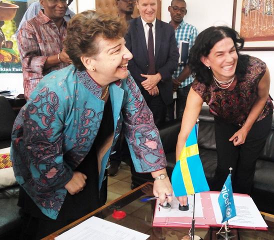 Suède-UNICEF: Environ 10 milliards de F CFA pour améliorer le bien-être  des enfants burkinabè