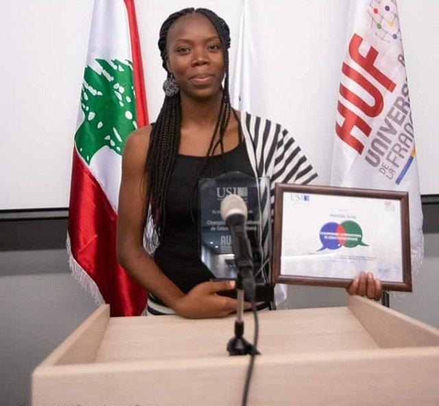 Mathilde Zerbo: Etudiante en médecine et oratrice hors pair