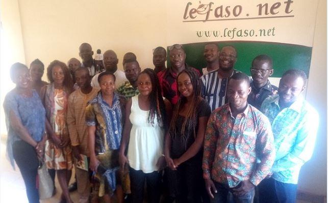 Médias: Des élèves journalistes de l'ISTIC visitent Lefaso.net