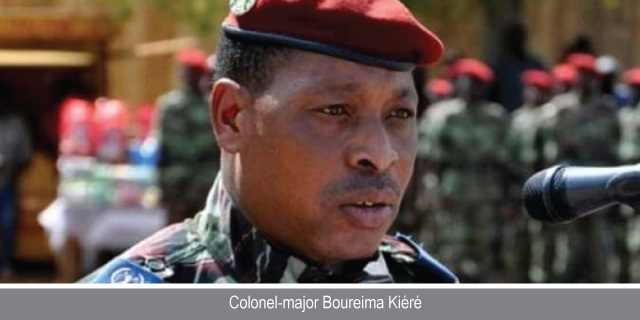 Procès du putsch : Ce fonctionnaire de police secouru par le colonel-major Boureima Kiéré
