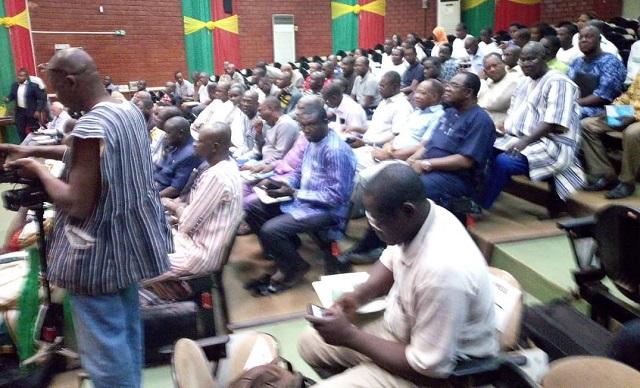 Assemblée nationale: Des députés à l'école de «la sécurité démocratique»