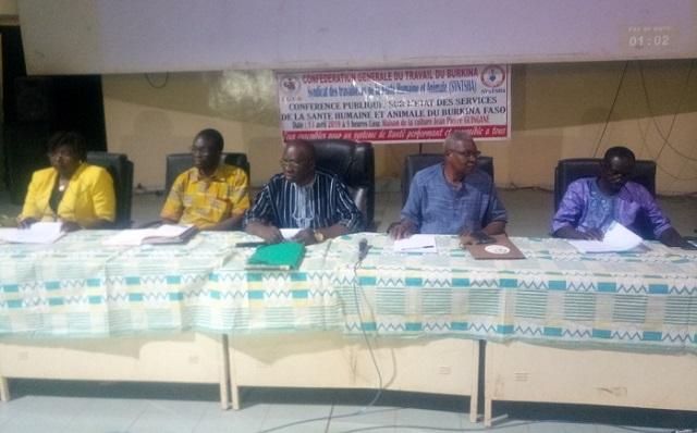 Burkina: Le SYNTSHA déplore l'état des services de santé