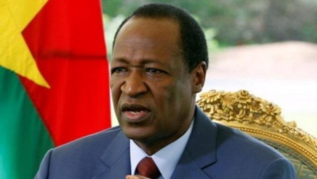 Sécurité au Burkina: Blaise Compaoré fait part  de «sa disponibilité et de son soutien» au président Roch Kaboré