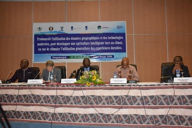 TIC et agriculture: Des experts à Ouagadougou pour promouvoir l'utilisation des données géographiques
