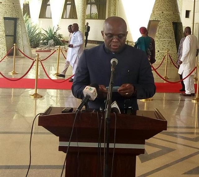 Conseil des ministres: Le gouvernement prévoie la réalisation d'infrastructures socioéconomique dans sept régions du Burkina Faso a hauteur de de 21 milliards Fcfa