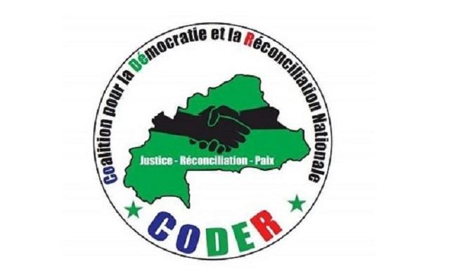 Concertations politiques: La CODER  veut  un dialogue  «intégral, inclusif  et ouvert»