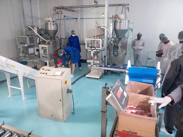 Aliments thérapeutiques: InnoFaso inaugure sa nouvelle usine dans les locaux de 2iE